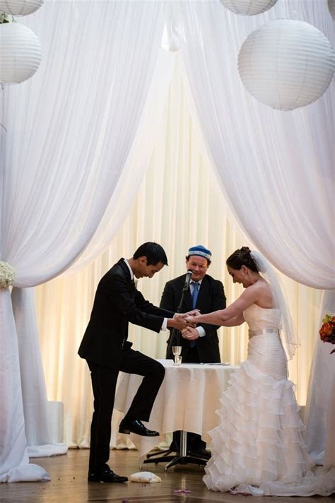 Breaking Glass, Jewish Wedding Ceremony   ? Jewish