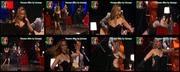 Melhor na Tv 2015/689 - Vanessa Silva sexy dançando num concerto dos Luckie Duckies