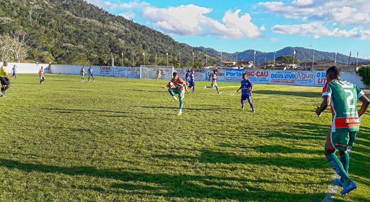 Com 2 x 1 no placar, os jogadores de Porto Seguro conduziram com tranqüilidade a partida até o final. (Foto: Divulgação)
