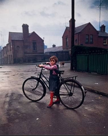 Girl with Bicycle, Dublin 1966, Evelyn Hofer