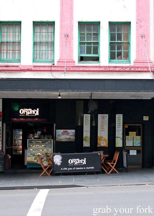 Colombia Organik on George Street Sydney