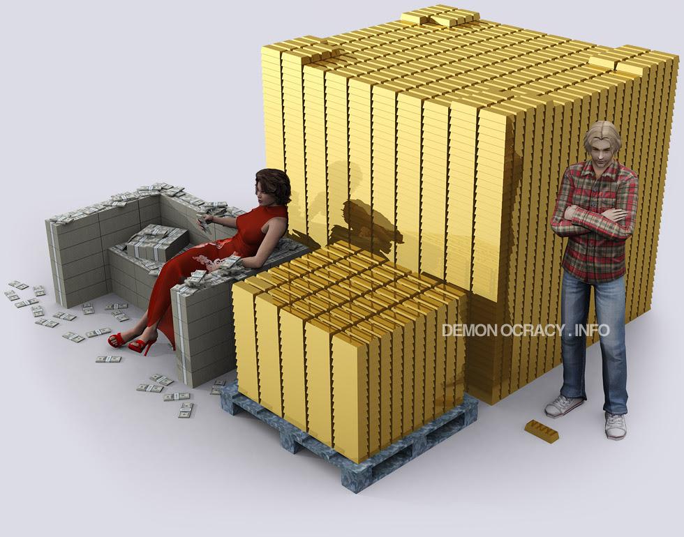 10 und 100 Tonnen Gold