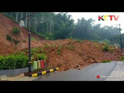 BREAKING NEWS | Detik - detik Longsor Sukanagara Cianjur