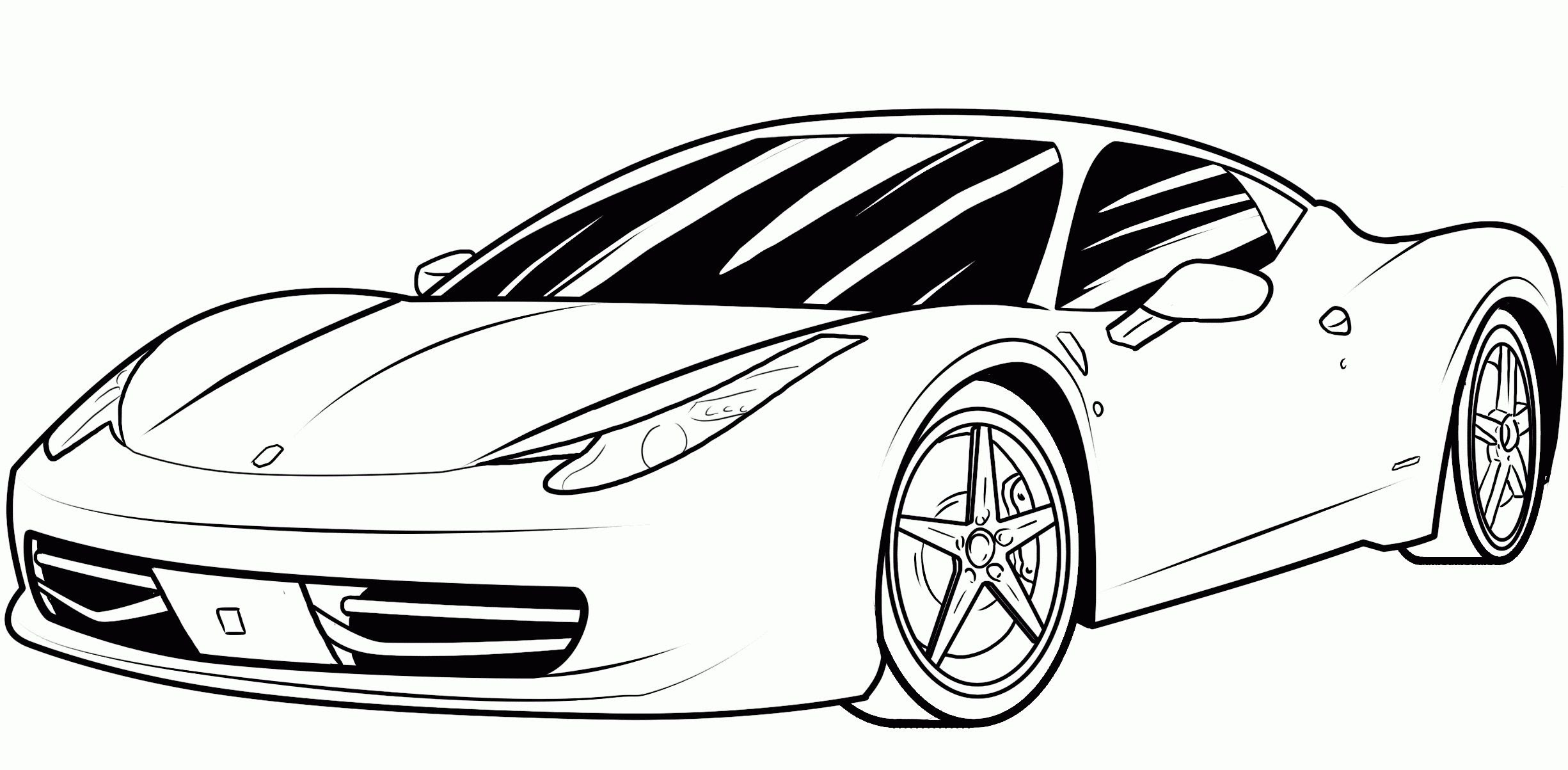 Cars Birthday Coloring Pages - Coloring Home