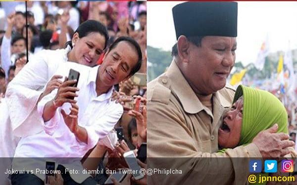 82 Gambar Lucu Jokowi Vs Prabowo Terbaik