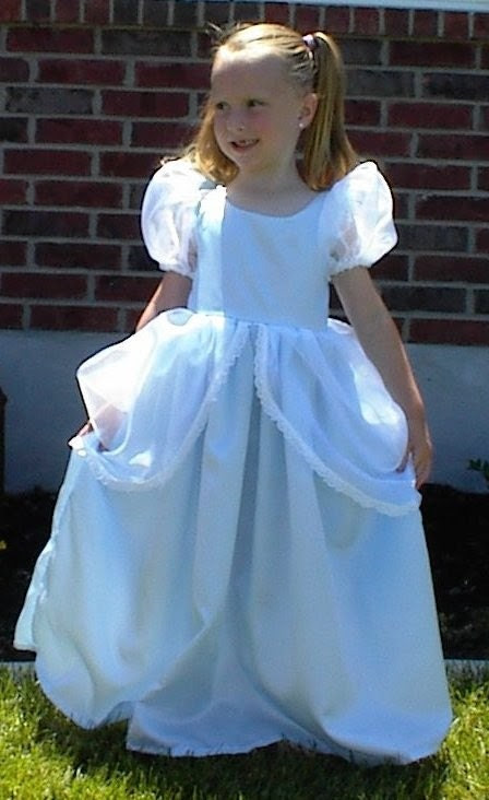 Beautiful Boutique Girls Cinderella Ballgown Costume