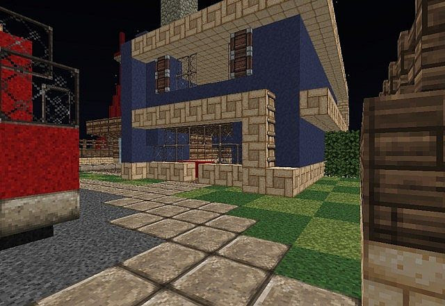 Nuketown 2025 Black Ops 2 Map Minecraft Project