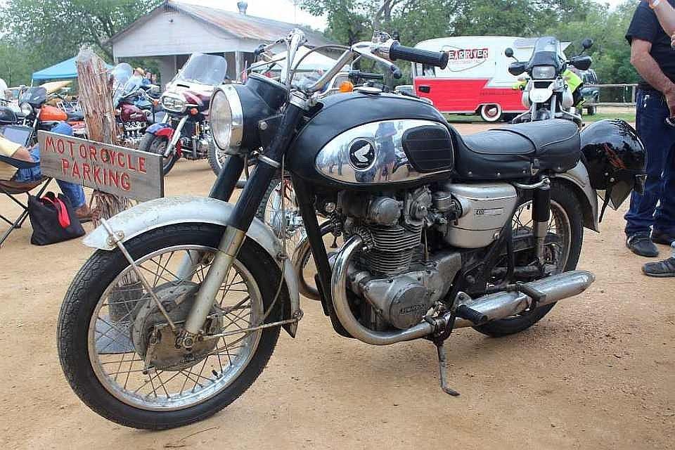 1967 Honda CB450