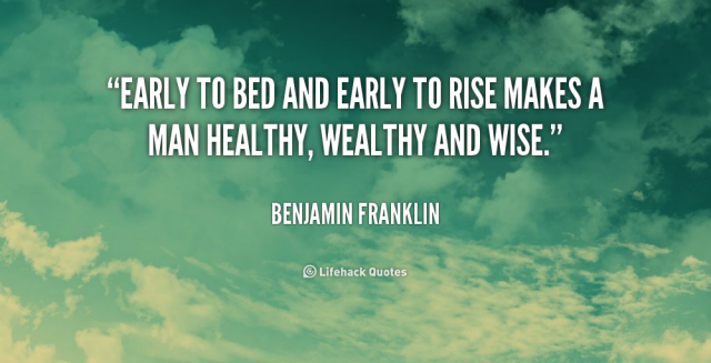 Benjamin-Franklin-early-to-rise