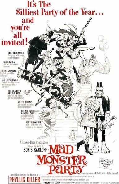 Frank Frazetta Mad Monster Party