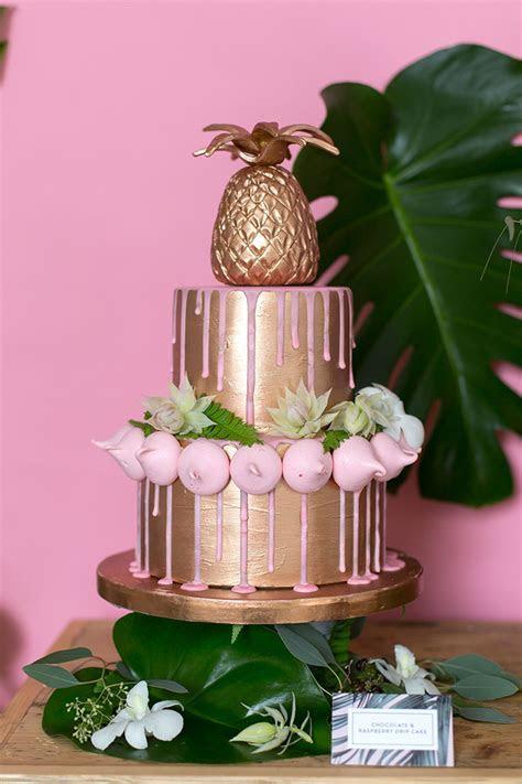 'Urban Jungle' Copper & Pink Wedding Inspiration   Mr