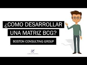 ¿Como desarrollar una Matriz BCG? - Boston Consulting Group
