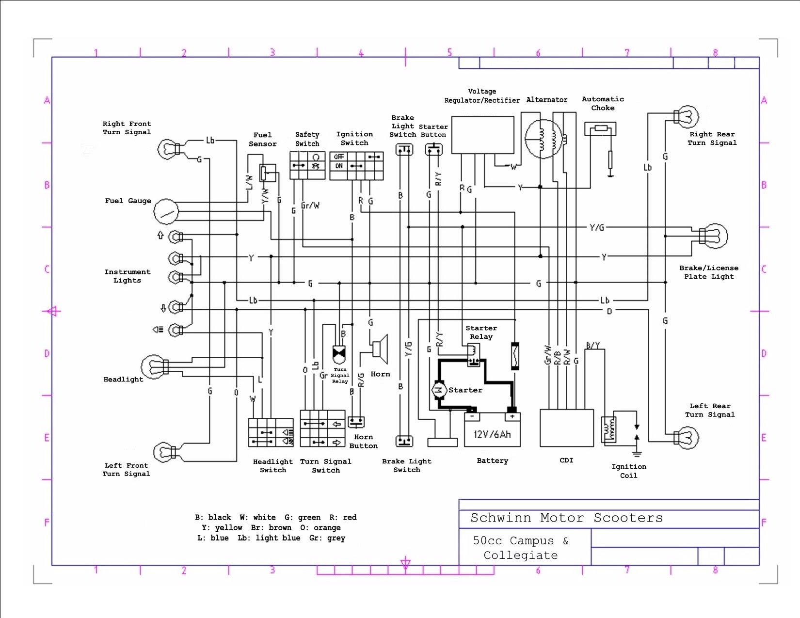 Atm50 49cc Scooter Wiring Diagram Citroen C3 Towbar Wiring Diagram Begeboy Wiring Diagram Source