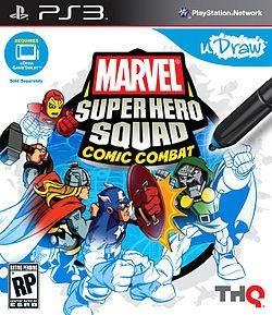 Udraw Marvel Super Hero Squad Comic Combat Wii