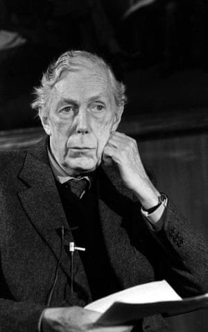 November 1979: 87-year-old Anthony Blunt two days after being exposed by Margaret Thatcher as a former Soviet spy.