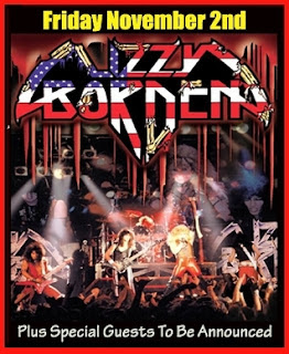 Lizzy Borden Plays L'Amour on November 2nd