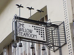 Sign, Willow Tearoom, Glasgow