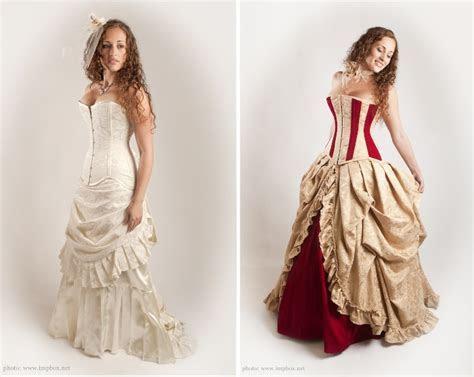 Bridal corsets and alternative wedding dresses ? Part 2