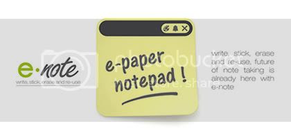 E-Note post-it digital