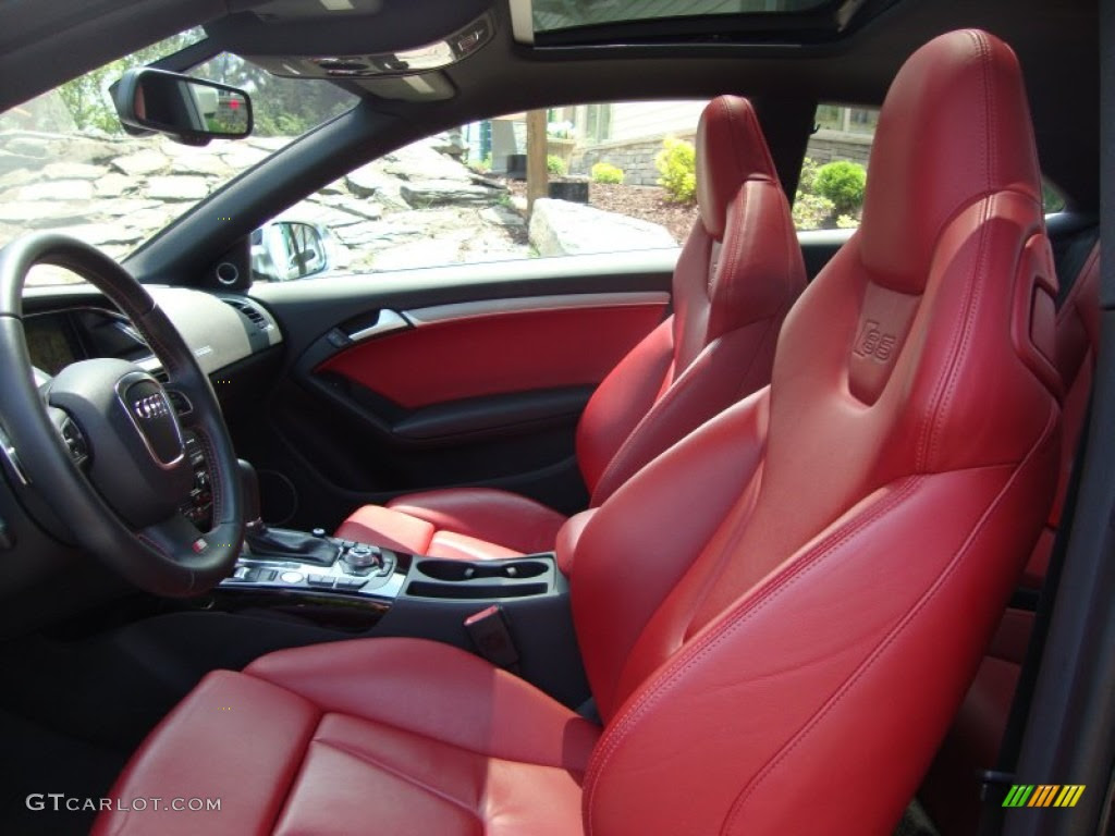 2010 Audi S5 Interior Colors