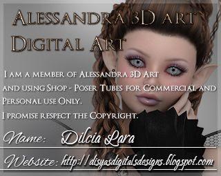 Alessandra 3D Art