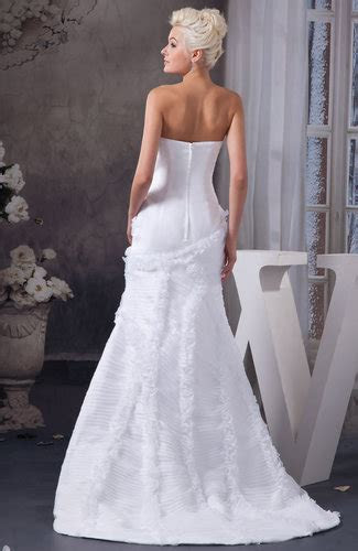 White Allure Bridal Gowns Sexy Country Amazing Trumpet