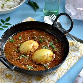 Chettinadu Egg Curry