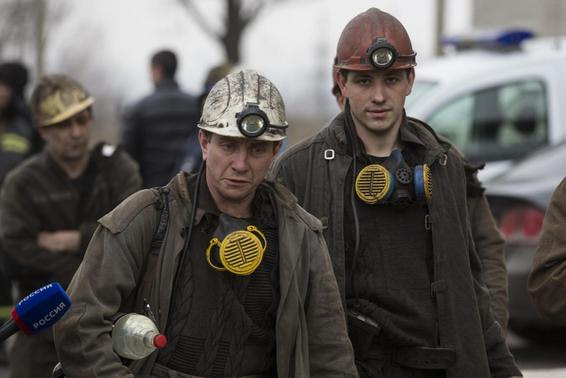 Breaking News: More than 30 killed in coal mine blast in rebel-held east Ukraine