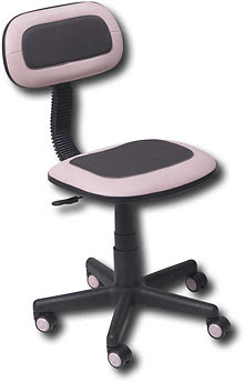True Seating - Vinyl Office Chair - Pink - 6329 - Best Buy For ...