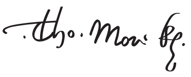 Signature of St. Thomas More