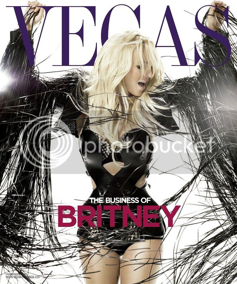 Britney Spears covers 'Vegas'...