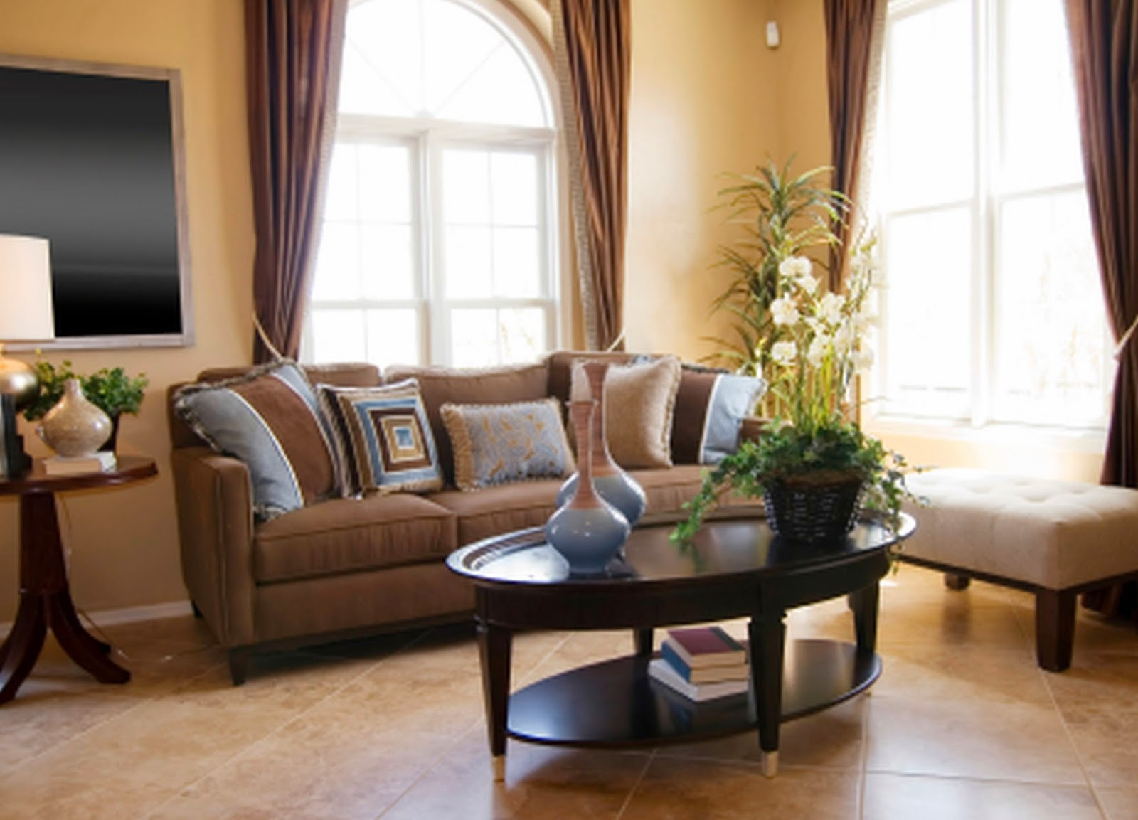 Brown Couches Living Room Living Room Paint Color Ideas With Brown Furniture Living Room