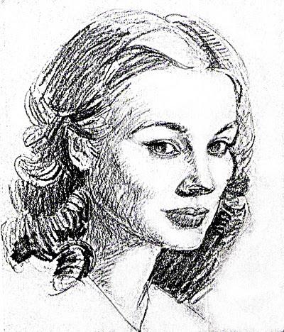 Tutorial De Dibujo Al Carboncillo Retrato De Mujer Julia Román