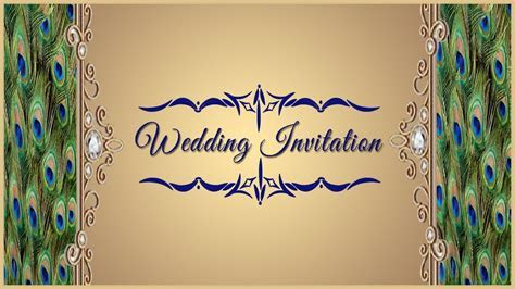 Wedding Invitation Card Front Page   Cobypic.com