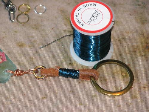 Sea Glass Charm Necklace 016