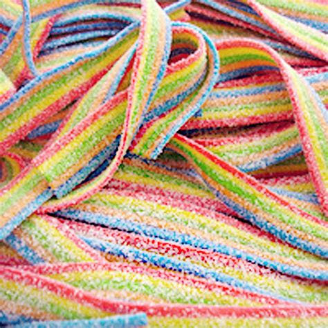 pcs rainbow ribbon tnt sour straps wedding party
