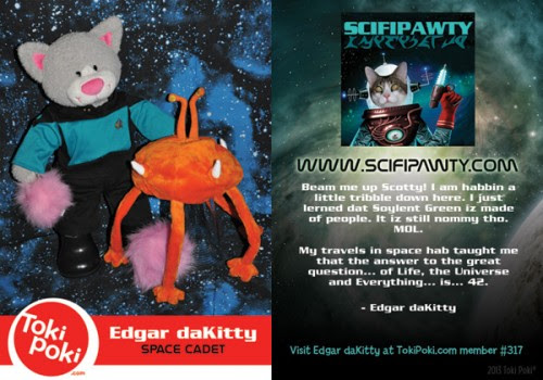 SCIFIpawty Trading Cards Edgar