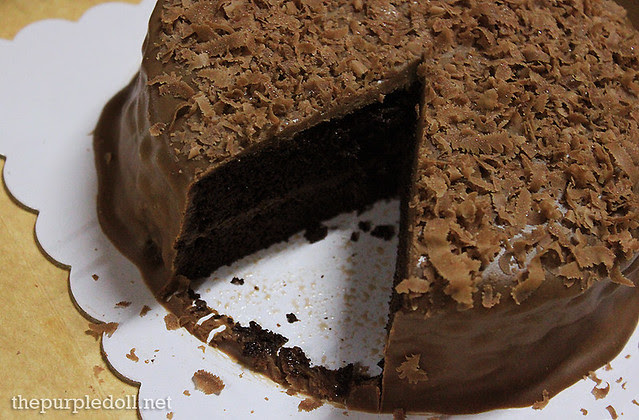 Frank & Carol's Dark Chocolate Cake