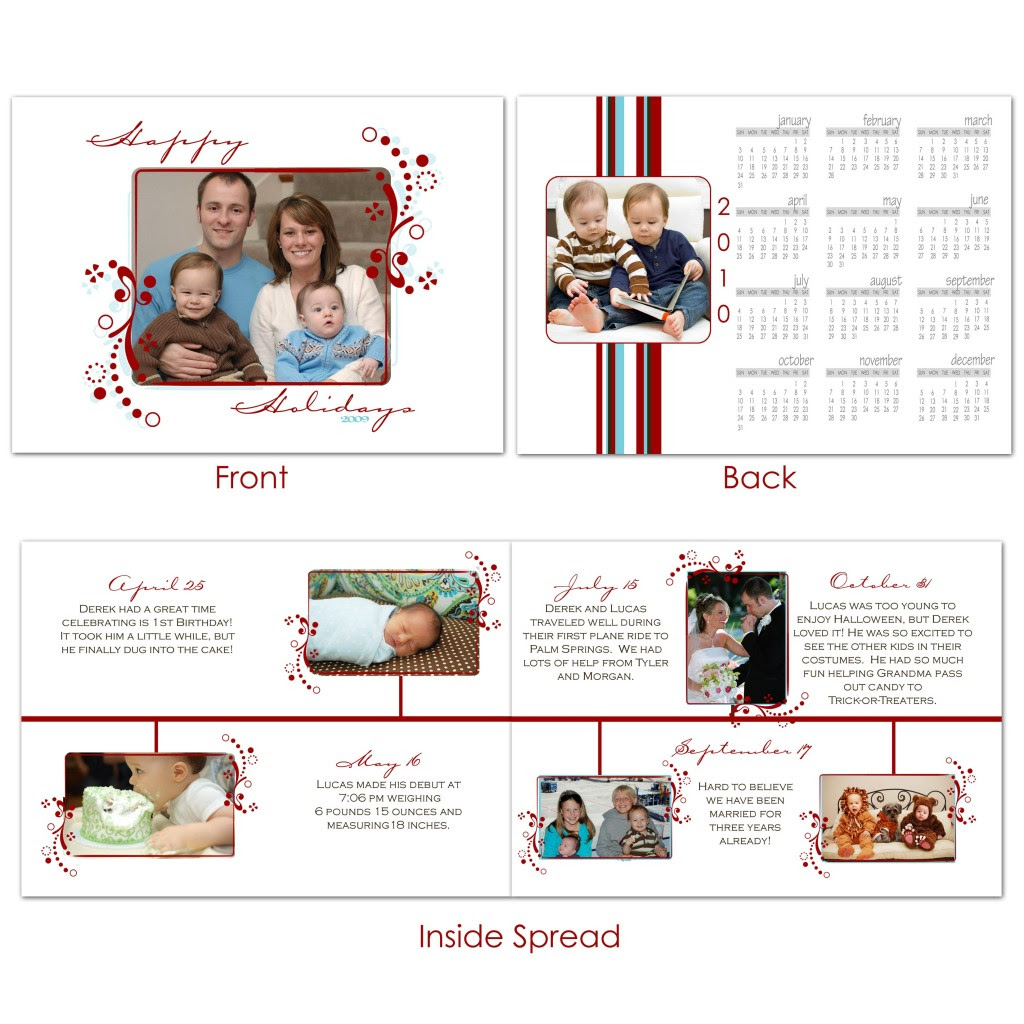 A Year In Review New Christmas Cards Nounces