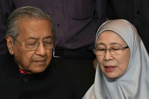 Tun M Menteri Pelajaran, Dr Wan Azizah Menteri Wanita