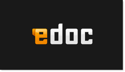 Online Document sharing logo design