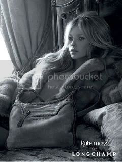 kate moss,longchamp,fashion ads