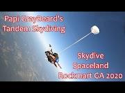 Tandem Skydiving at Skydive Spaceland in Rockmart Georgia 2020