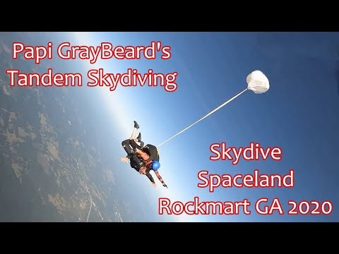 Tandem Skydiving at Skydive Spaceland in Rockmart Georgia 2020