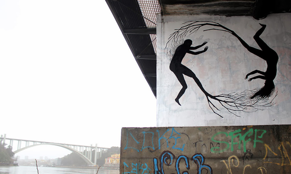 New Tree Murals by Pablo S. Herrero trees street art murals