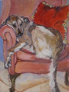 'Bob' by Patricia Huber Oil ~ 8 x 6