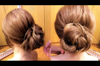 Messy Bun Step By Step With Pictures