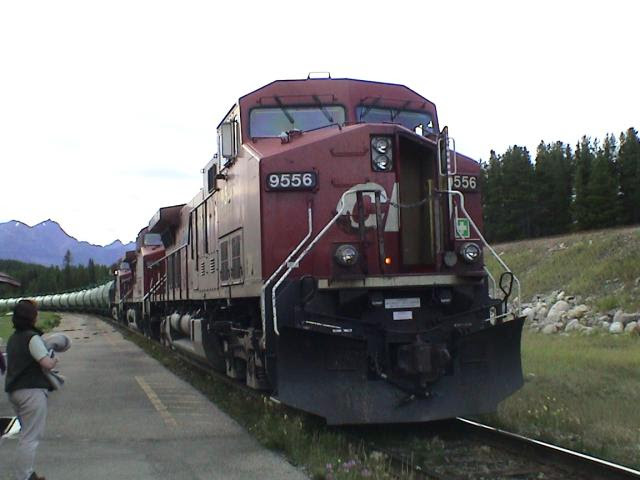 CP 9556 at Lake Louise, Alberta