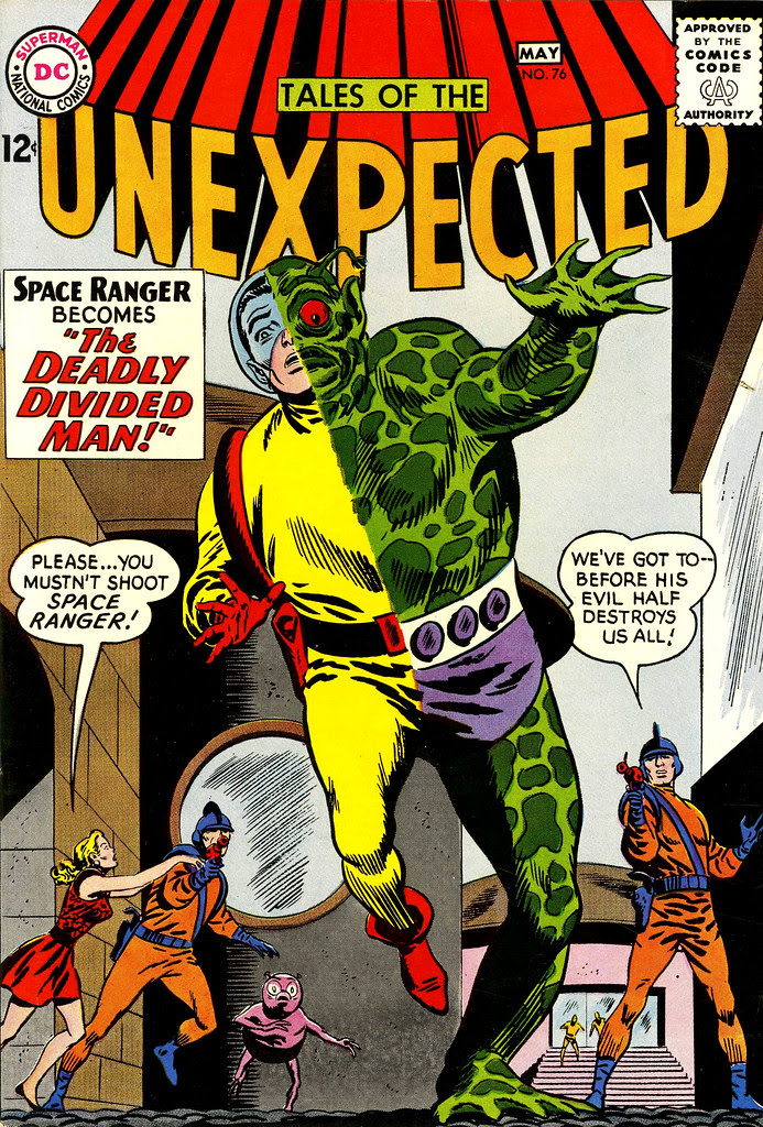 Tales of the Unexpected #76 (DC, 1963) Bob Brown cover