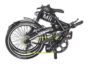 Mini Folding Bike é solução para poluiçao e trânsito, de acordo com a marca (Foto: Divulgação)